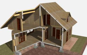 Высота потолка и площадь жилых помещений также регламентируется