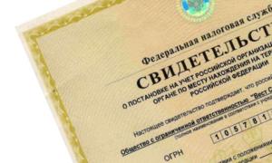 Юридические лица подают несколько иные документы