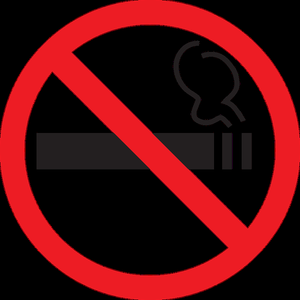 Величина штрафа за курение в подъезде