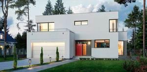 Проекты загородный одноэтажных домов с гаражом