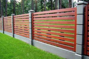 Забор — выбираем материал и размеры