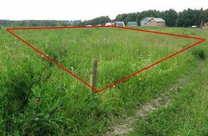 Земельный участок - определяем площадь