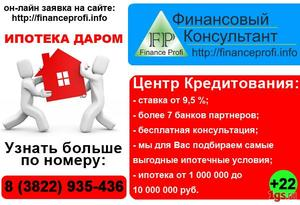 Получение кредитов и ипотеки