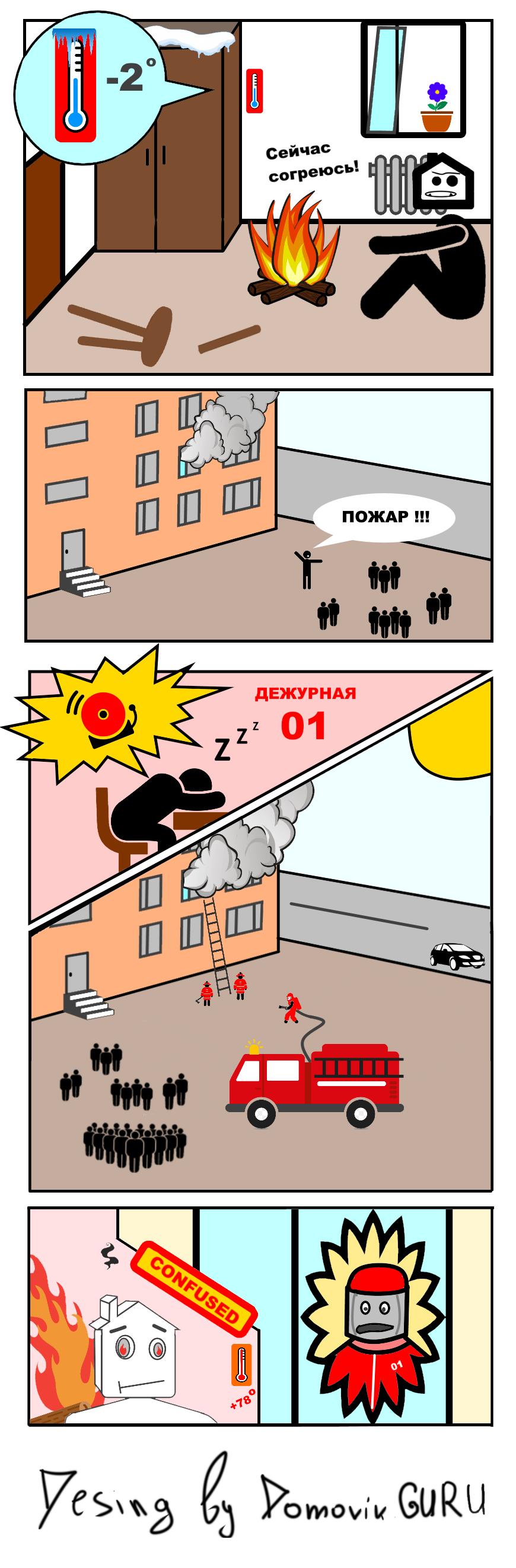 Комиксы о недвижимости