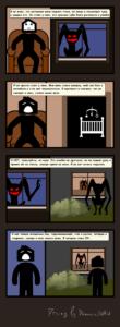 Ночной гость комикс