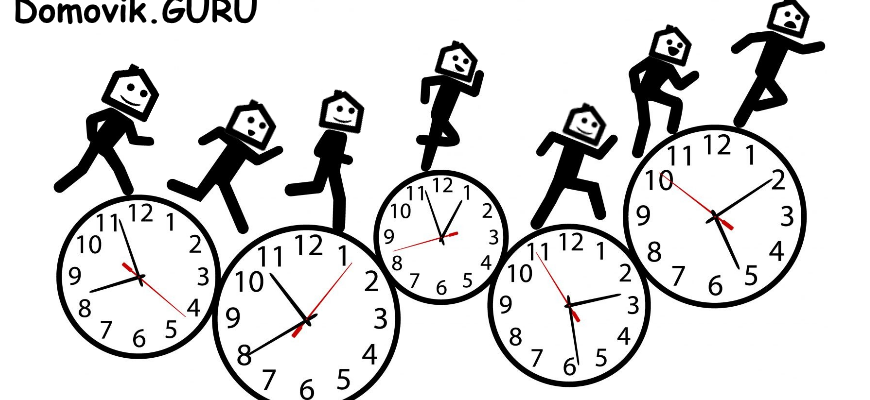 Часы жизни комикс