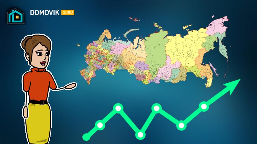 В каком регионе самое доступное жилье? Изучаем статистику